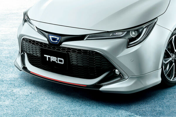 TRD FRONT SPOILER BLACKISH SWALLOWTAIL 221 For COROLLA SPORT 21# MS341-12045-C1
