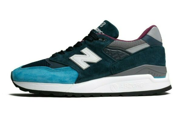 New Balance 998 Made In USA # M998TCA Blue Navy Men SZ 8 - 12