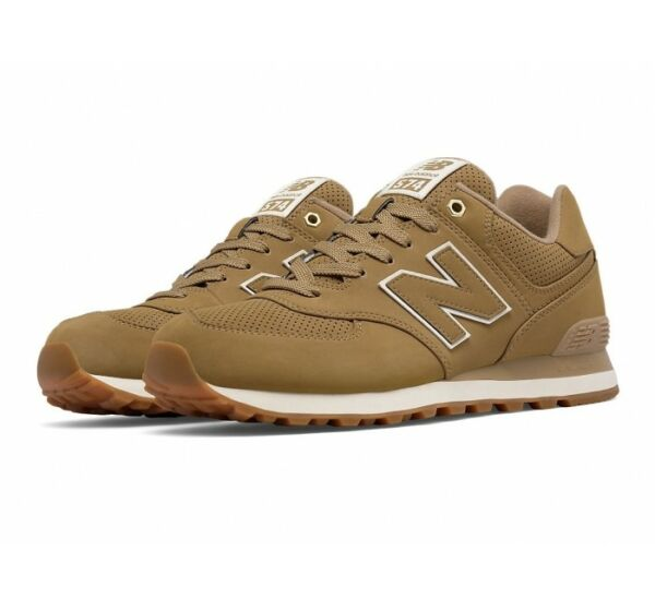 Men's New Balance ML574HRF Linseed  Sizes 10 thru 11.5