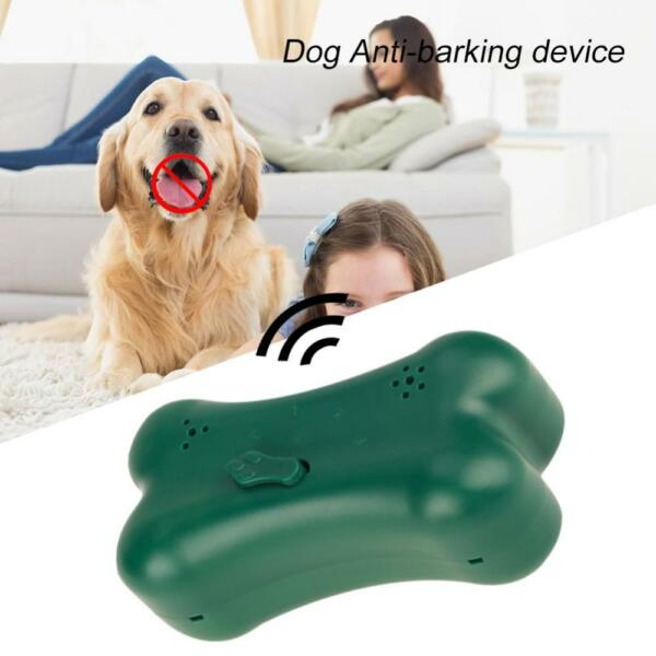 Ultrasonic Dog Anti-barking Pet Stop Bark Control Training Device InOutdoor