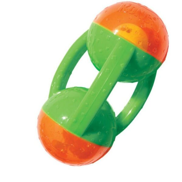 KONG Jumbler Tri for Dog Toy - M to XL NEW favorite toy Interior tennis ball $25.15
