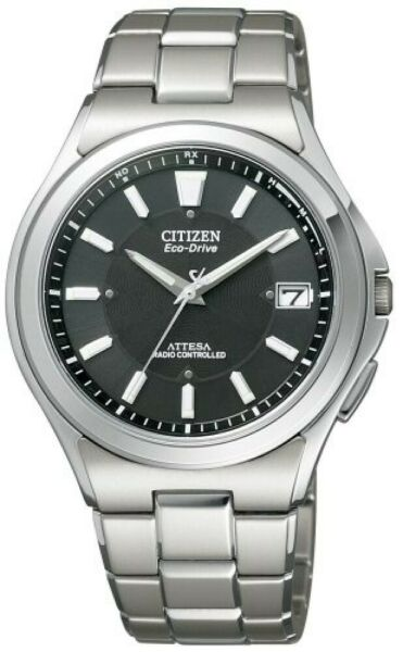 CITIZEN Watch ATTESA Eco-Drive radio frequency watch ATD53-2841 Men's from japan
