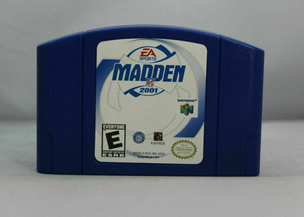 Madden 2001 - N64 Game