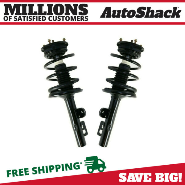 Front Pair (2) Complete Strut Assembly wCoil Spring Fits 05-2007 Ford Freestyle