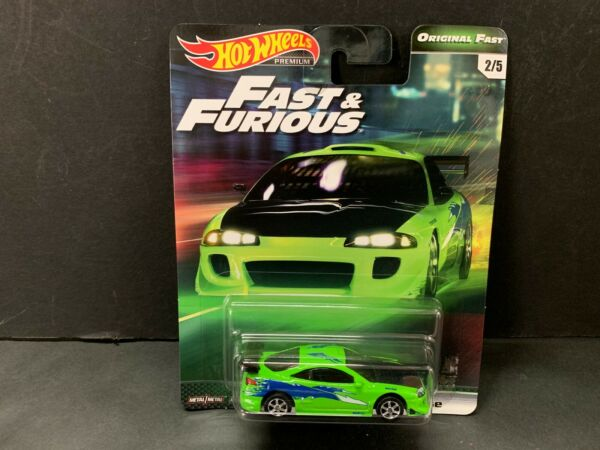 Hot Wheels Mitsubishi Eclipse Fast and Furious GBW75-956B 164