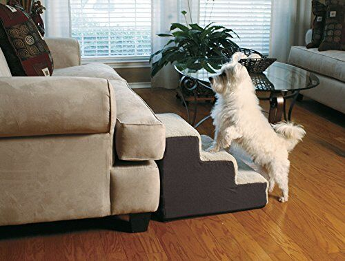 Dog Stairs Pet Ramp Bed Couch Old Steps Step Cat Stool Portable Sofa Up Elderly $90.97