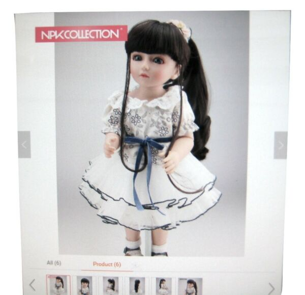 NPK Hand Made Pose Able Doll 18 Inch SDBJD Top Quality New Design Fashion doll