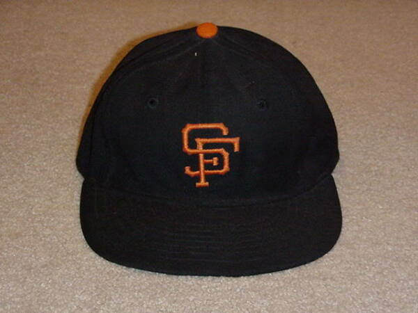 Willie Mays Signed Game Worn Hat Cap 1950s Giants HOF