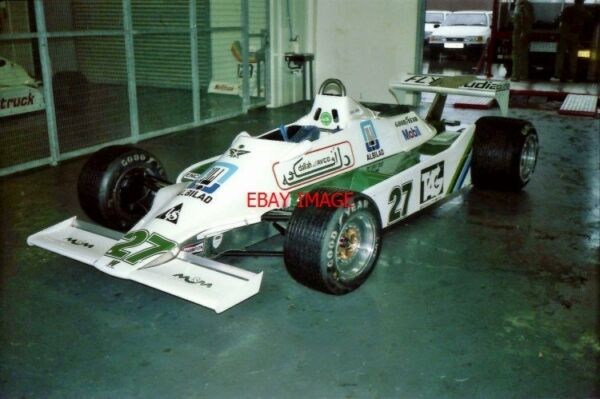 PHOTO  HSCC SILVERSTONE 24.9.88   JOHN SAPHIR'S F1 WILLIAMS FW07-COSWORTH SITS I