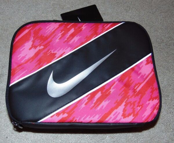 ~NWT Girls NIKE Insulated Lunch BoxPail Nice FS:)~