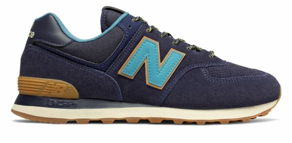 New Balance Male Men's 574 Adult Encap� Midsole Technology� Navy With Blue