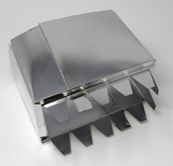 MOBILE HOME FLOOR REGISTER VENT INSERT COLLAR 4x8 or 4x10
