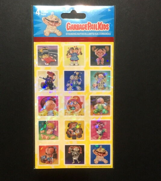 Topps Garbage Pail Kids Sticker Sheet for Scrapbooks Stationary from Trends Int