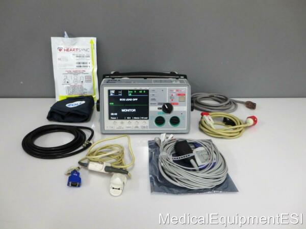 ZOLL E Series BiPhasic 12 Lead SpO2 NIBP ETCo2 Bluetooth Pacing ALS AED CO2