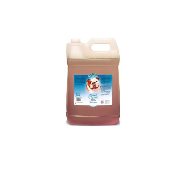 BIOGROOM Natural Oatmeal Shampoo for Dogs Relieve dry irritated skin 2.5 Gallons