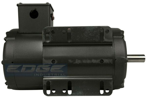 BALDOR 5HP AIR COMPRESSOR ELECTRIC MOTOR 56HZ 1-PHASE 208-230V  78