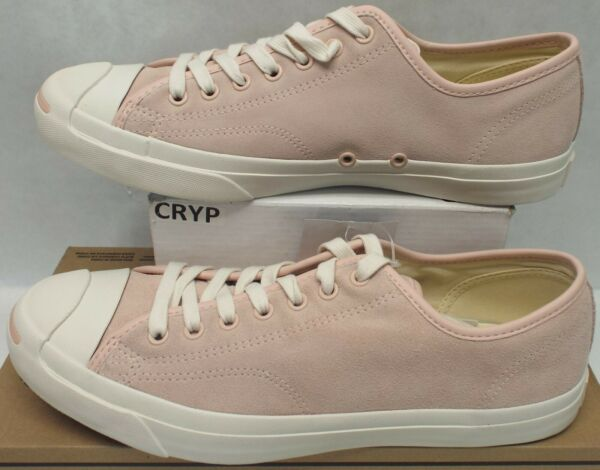 New Mens 11 Converse JP Jack Purcell OX Dusk Pink Suede Shoes $80 157790C
