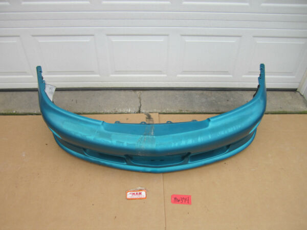 FRONT BUMPER COVER 96 97 98 99 CHEVY CAVALIER Z24 TEAL BLUE GREEN OEM USED CAR