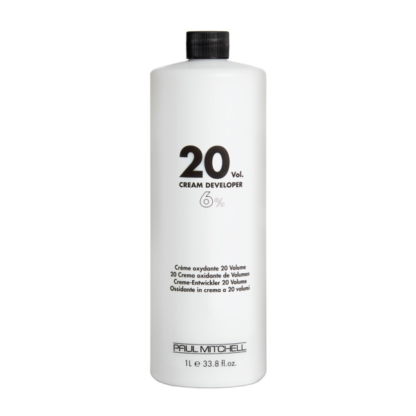 Paul Mitchell  20 Volume Cream Developer  Liter