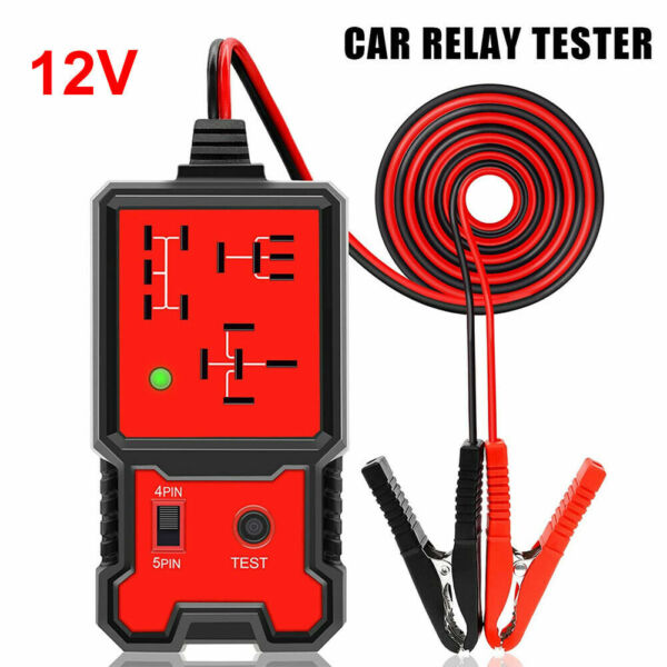Universal 12V Car Relay Tester Tool Relay Testing Auto Battery Checker Accurate $15.74