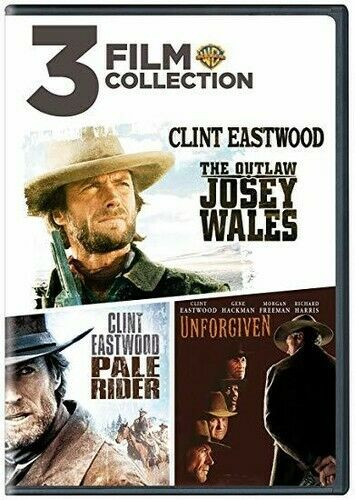 The Outlaw Josey WalesPale RiderUnforgiven [New DVD] 2 Pack Eco Amaray Case