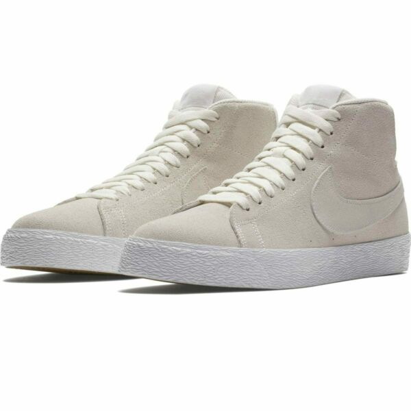 Nike SB Blazer Mid Decon Deconstructed Suede Summit White AH6416-100 Sneakers