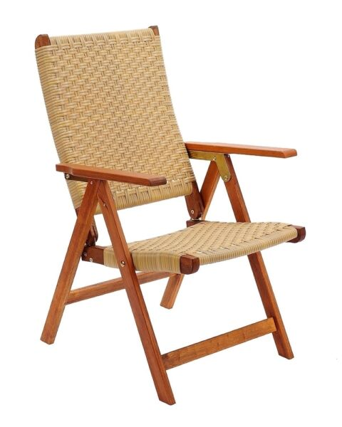 Achla Designs Poly Weave Folding Chair OFC-03 Chair 24