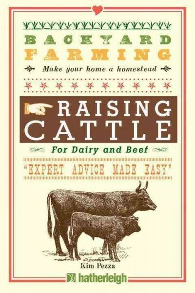 Raising Cattle : For Dairy and Beef Paperback by Pezza Kim Brand New Free... $9.20