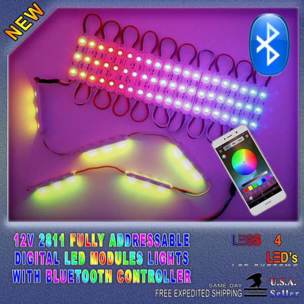 Storefront Light Chasing Jumping Digital Bluetooth Multi Color WS2811 Led Module
