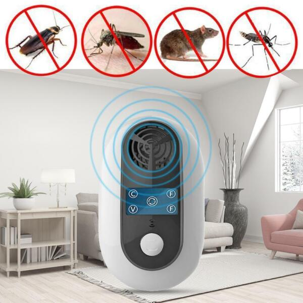 Frequency Conversion Ultrasound Pest Insect Repeller Cockroach Mouse Repellent