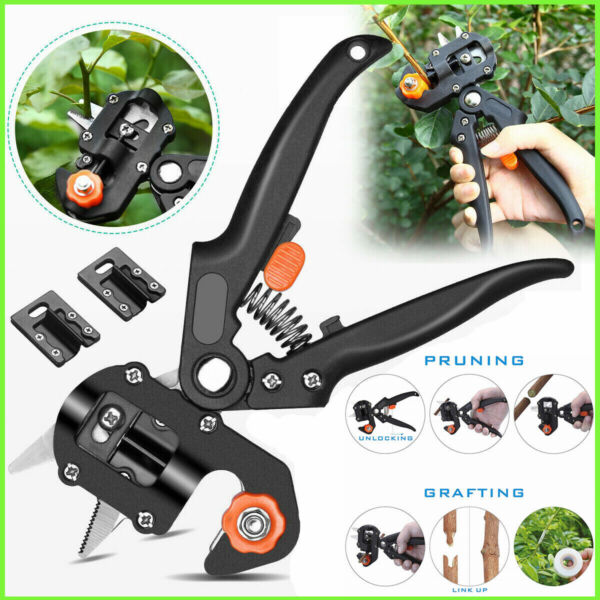 Garden Fruit Tree Nursery Stems Grafting Pruning Shear Potted Plant Pruner Knife