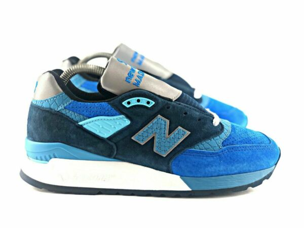 {M998NE} Men's New Balance 998 Made in USA Blue *NEW* MSRP: $180