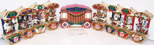 Mr. Christmas Holiday Horse Carousel for your mantle or tree