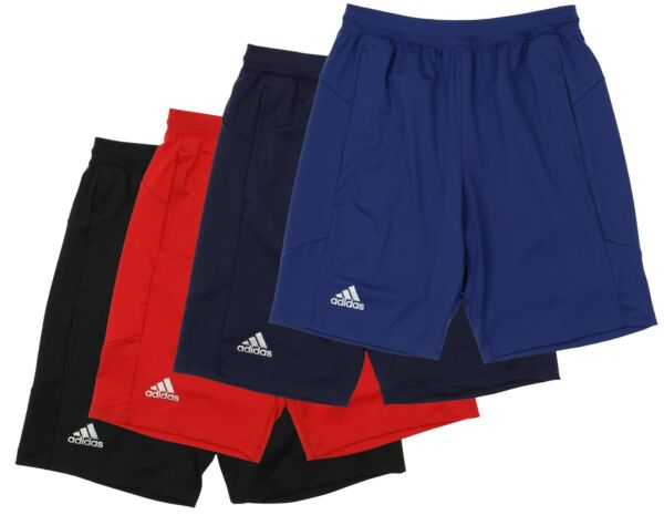 Adidas Men's Sports Climalite Knit 10-inch Shorts Color Options