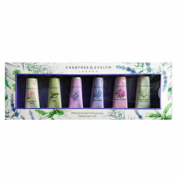 NEW Crabtree & Evelyn London Ultra Moisturizing Hand Therapy 6 PACK LOTION