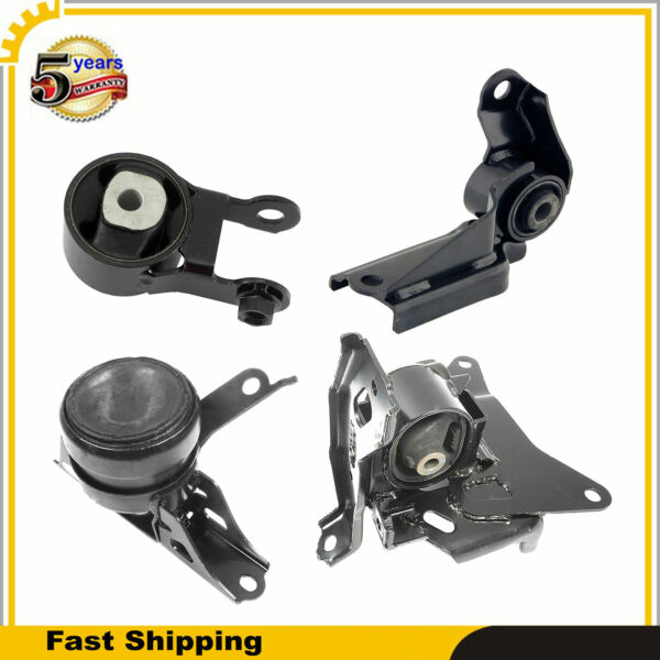 Engine Motor amp; Auto Trans Mount Set of 4PCS For Toyota Yaris 06 12 15 17 1.5L L4 $109.16