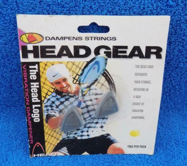 Vintage 1996 Head Gear Head Logo Tennis Racket Vibration Dampener