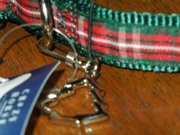 Dog collar with Christmas tree charm Perfect Pooch Crazy Horse up to  22