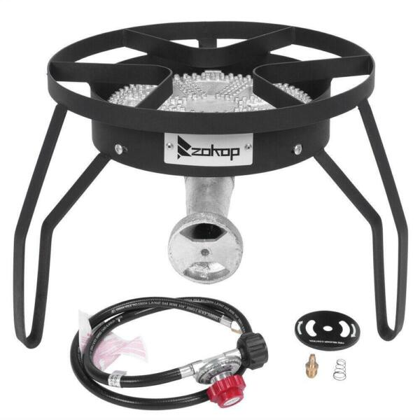 200000 BTU Burner High Pressure gas Cooker Camping outdoor Portable Classic BBQ