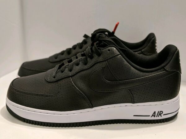 Nike Air Force One 1 '07 LV8 Low Black White Dream Team (718152-014) Mens 11.5