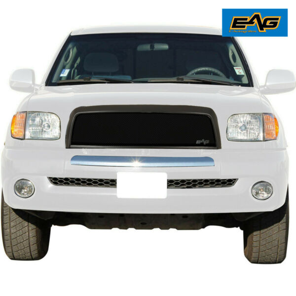 EAG Replacement Grille Black Stainless Steel Wire Mesh Fits 03-06 Toyota Tundra