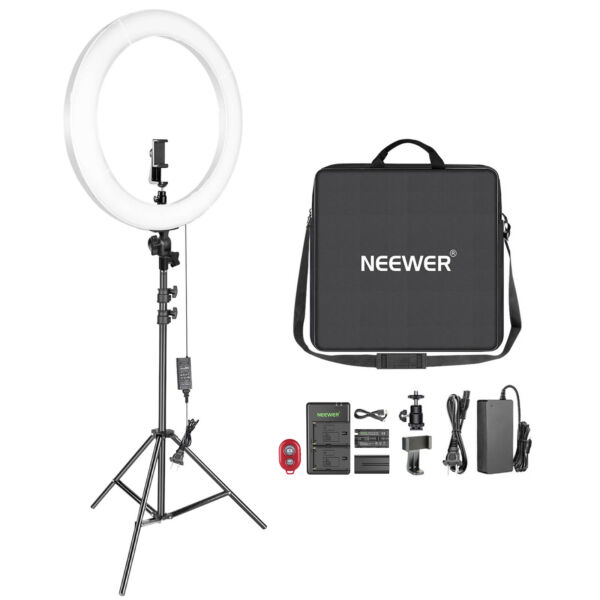 20 inch LED Ring Light Kit for Makeup Youtube Video Blogger Salon
