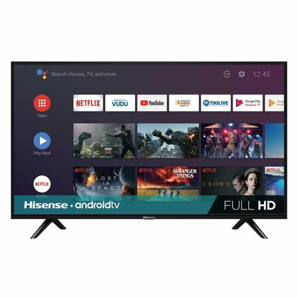 Hisense 32-inch 720p HD Android Smart LED TV 2019 w Google Assistant 32H5590F
