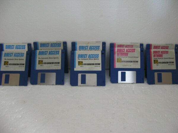 Vintage Direct Access NetworkAutomatic Menu Software 3 12