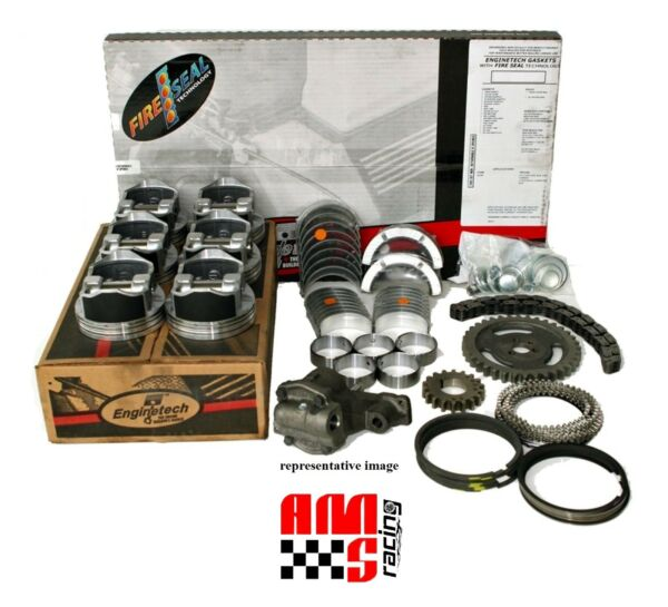 Engine Rebuild Overhaul Kit for 1988-1996 Ford 300 4.9L Incline 6 Truck