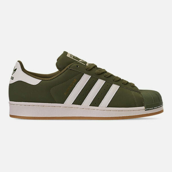 Men's adidas NIB Superstar Casual Shoes Lifestyle Shoes Limited Ed Olive Cargo