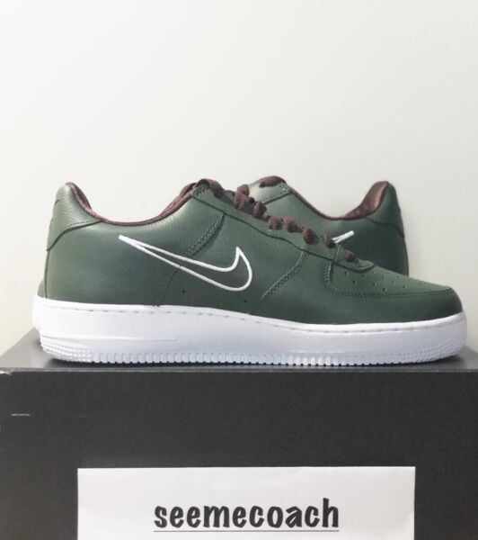 New GREEN Air Force One LOW RETRO SIZE 10