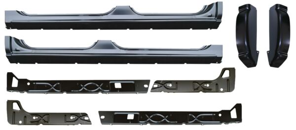 Rocker Panel Inner Rocker Cab Corner Kit  for 99-07 Chevy GMC Silverado Crew Cab