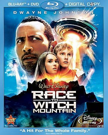 Disney~Race To Witch Mountain (Blu RayDVD) NEW  **Free Shipping**
