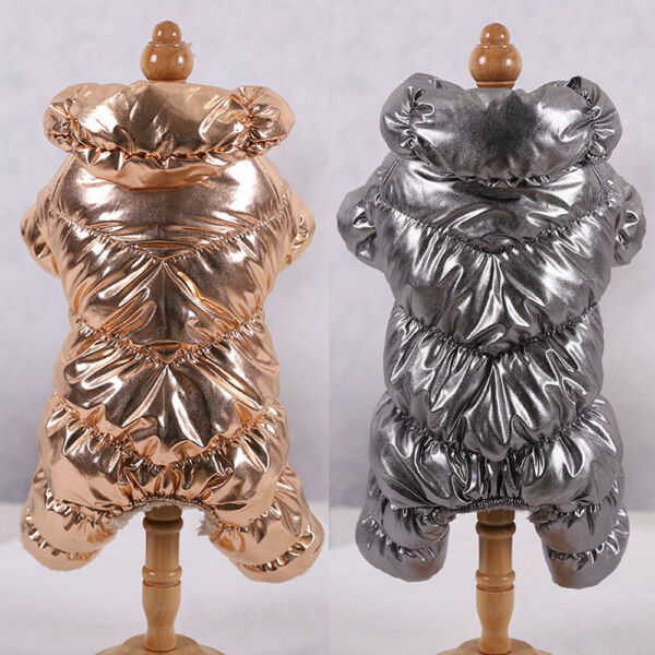 Dog Jumpsuits for Small Dogs Pet Cat Dog Jackets Winter Waterproof Dog Raincoats
